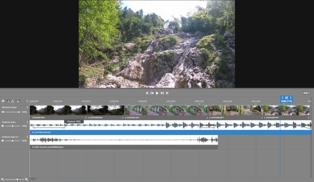Jak na video v ZPS X - 2. díl - úprava hlasitosti