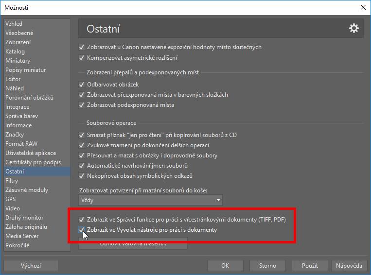 Upravujte PDF soubory - možnosti