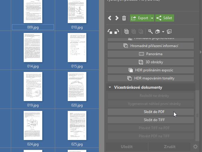 Upravujte PDF soubory - sloučit