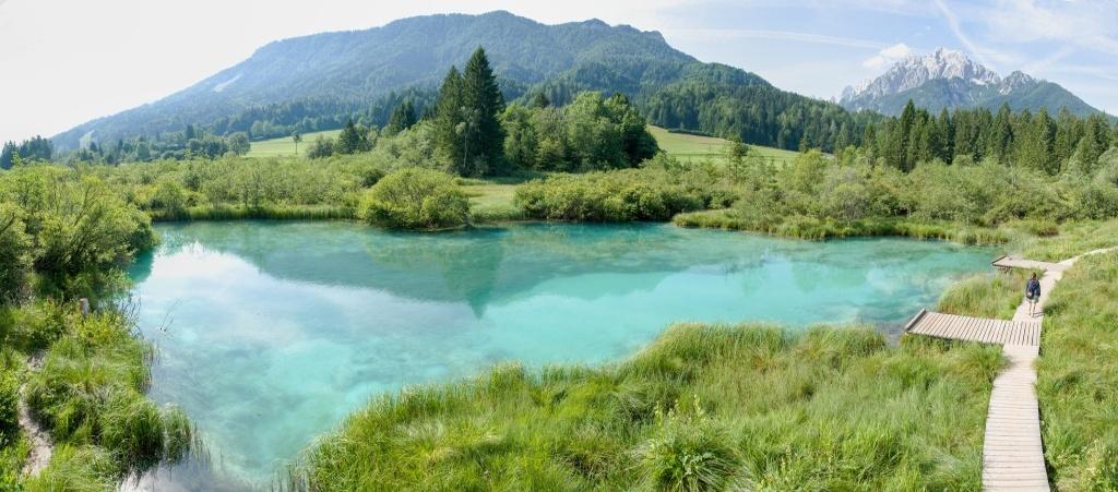 Focení krajiny ve Slovinsku - Zelenci