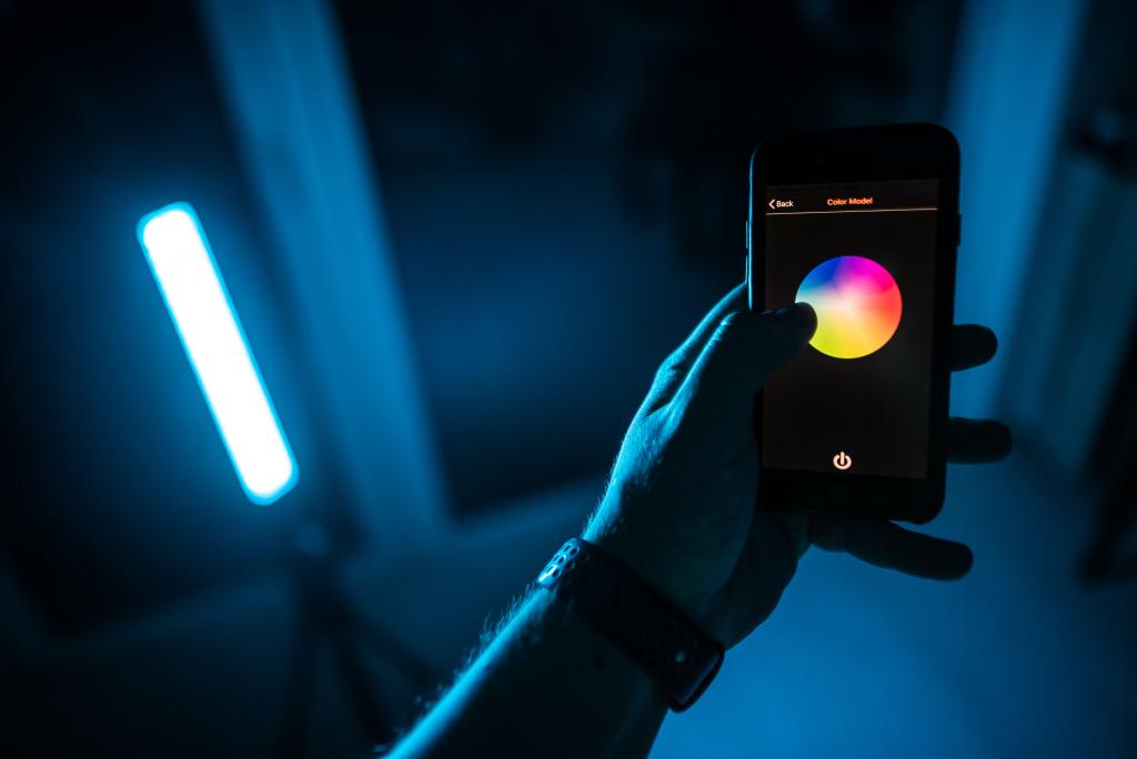 Tyčové LED světlo - aplikace
