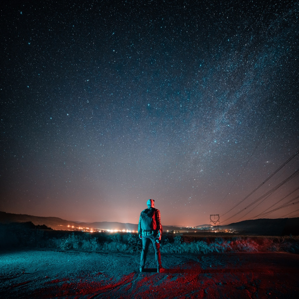 Tyčové LED světlo - mléčná dráha