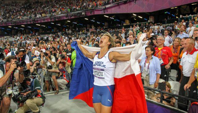 Rozhovor s Alešem Gräfem - Špotáková dává průchod emocím po vítězství v Londýne 2012