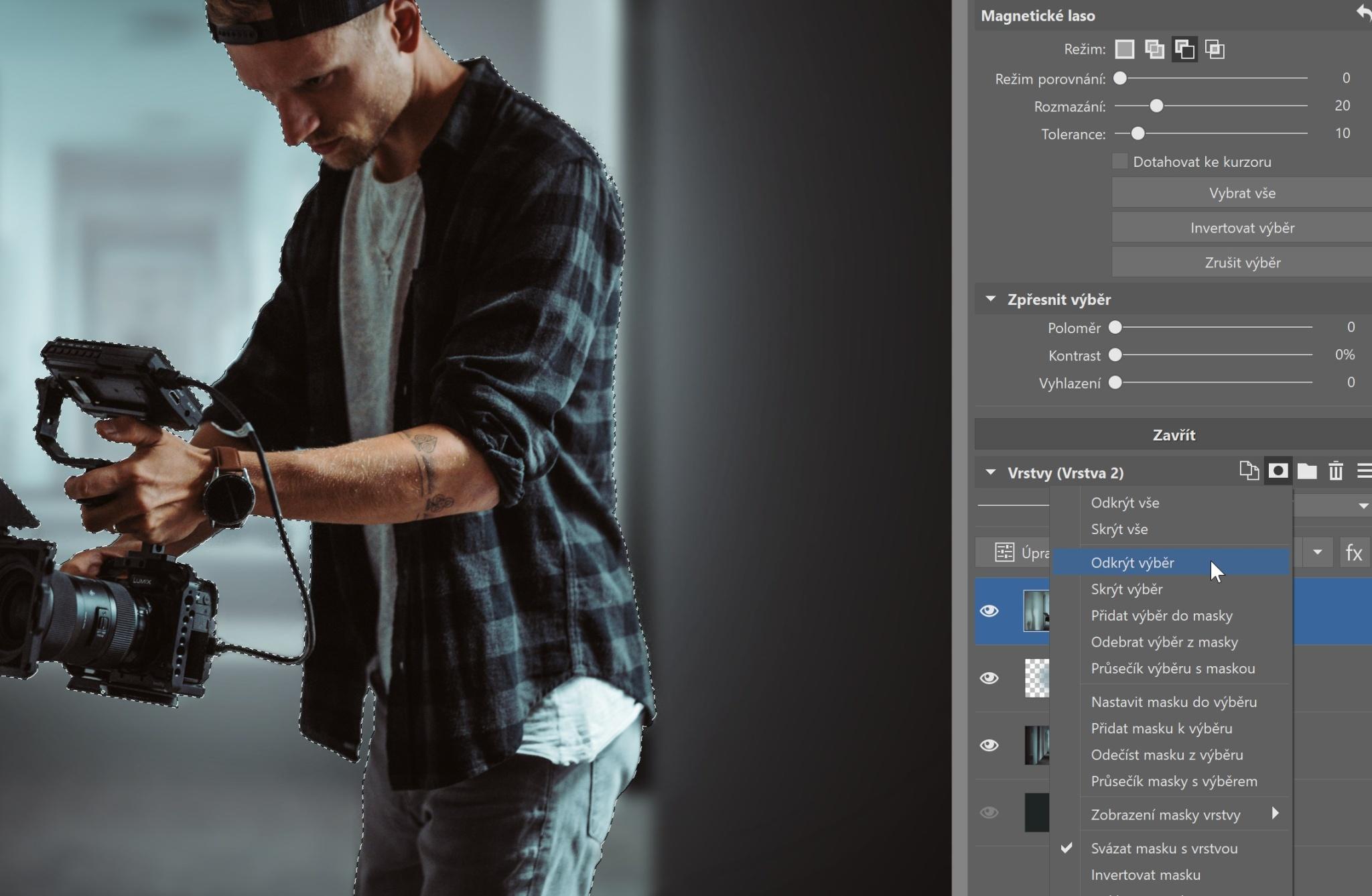 Vyměnit pozadí, přidat stíny… Ovládněte základy práce s vrstvami