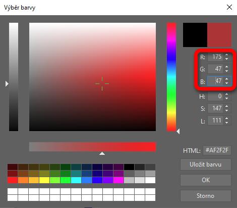 Vytvořte si fotku v Pop Art stylu - výběr barvy v ZPS