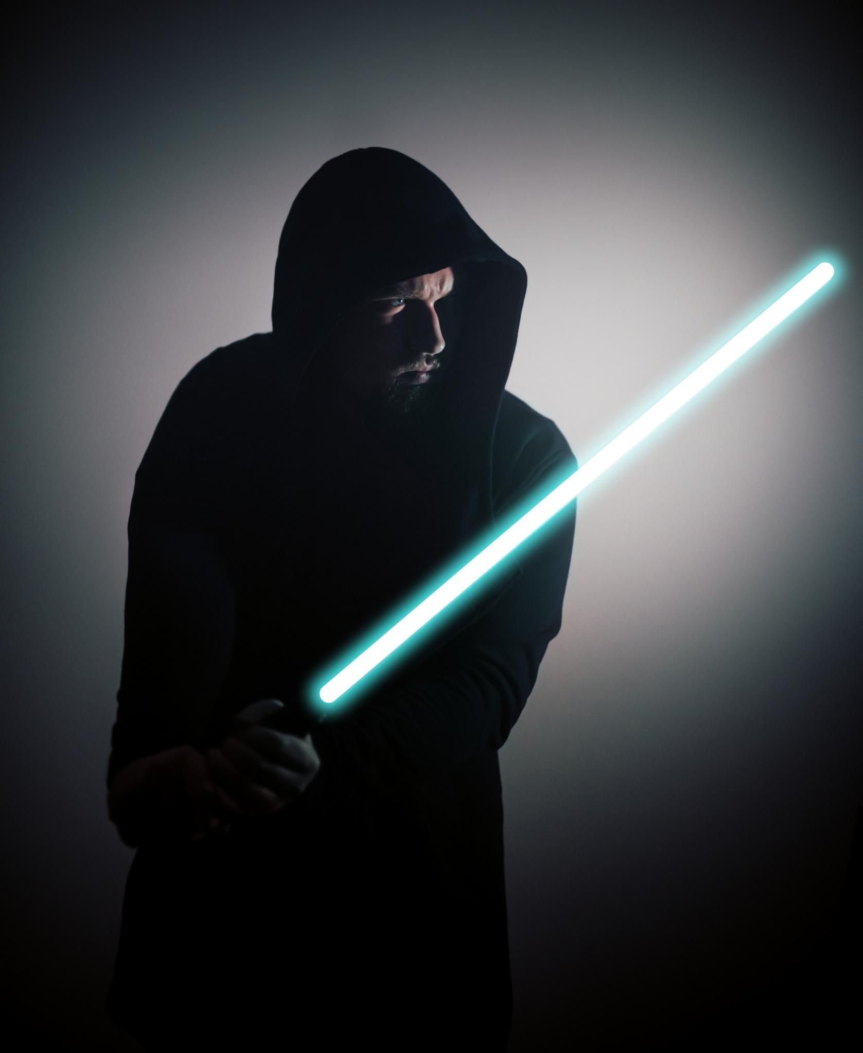 Star Wars speciál: přidejte si do fotky světelný meč - finální foto