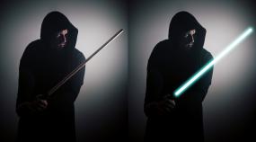 Star Wars speciál: přidejte si do fotky světelný meč