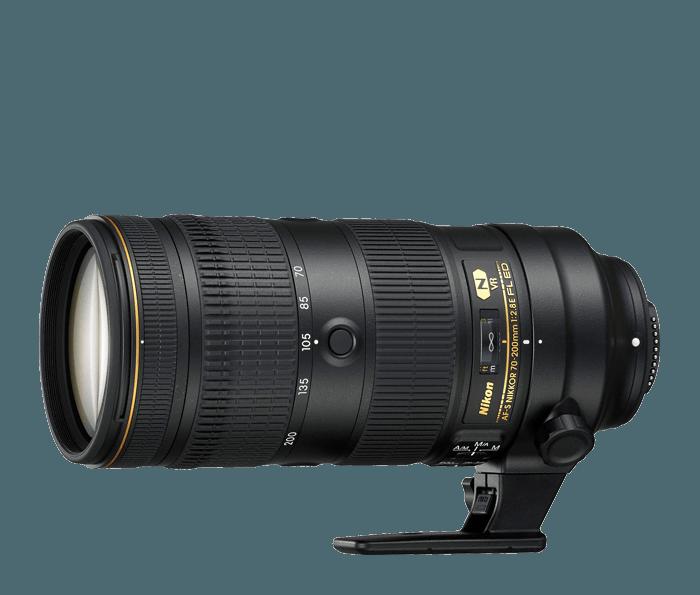 Jak vybrat objektiv na foceni sportu Nikon AF-S NIKKOR 70-200mm