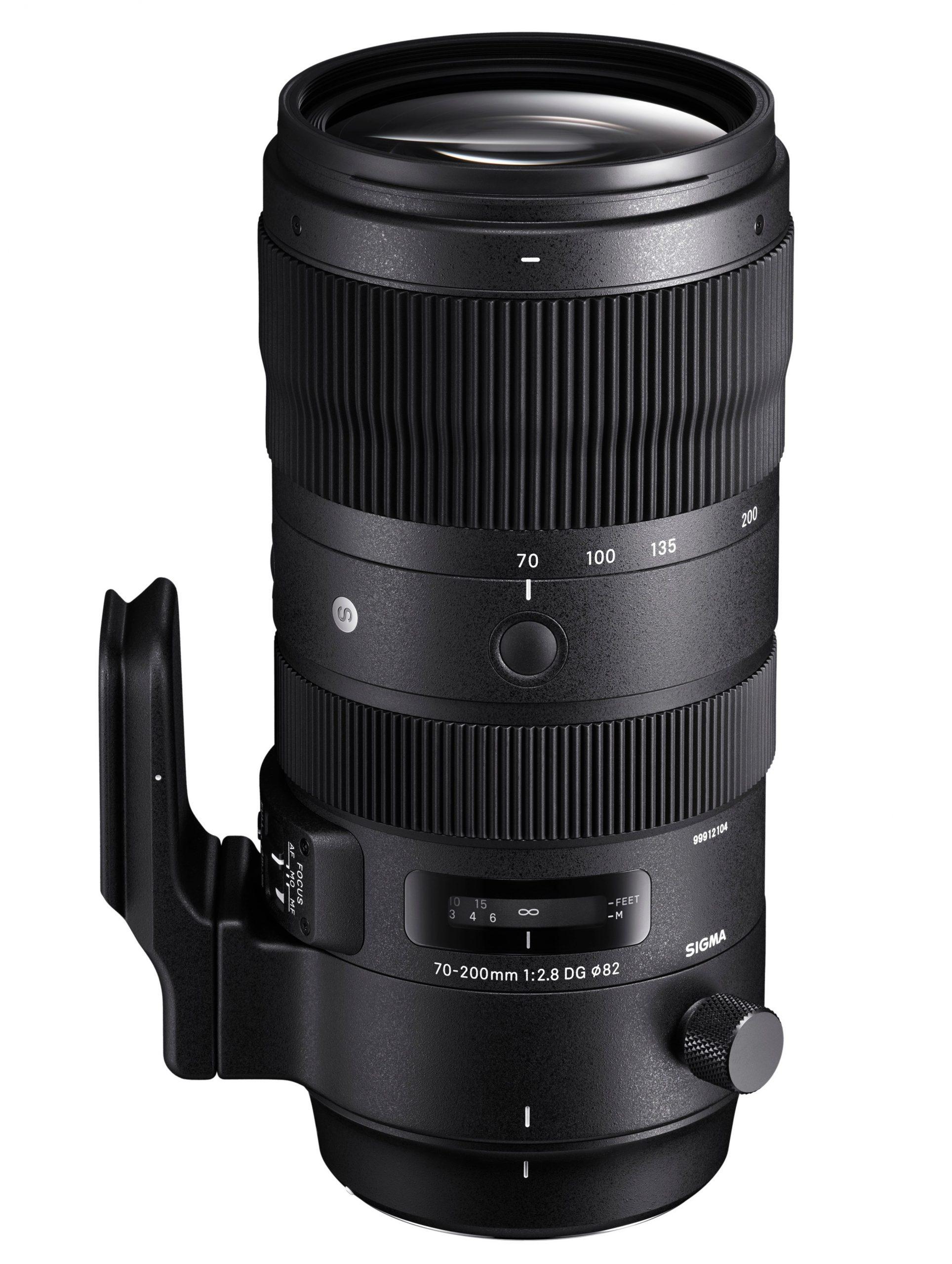 Jak vybrat objektiv na foceni sportu Sigma 70-200mm F2.8 DG OS HSM
