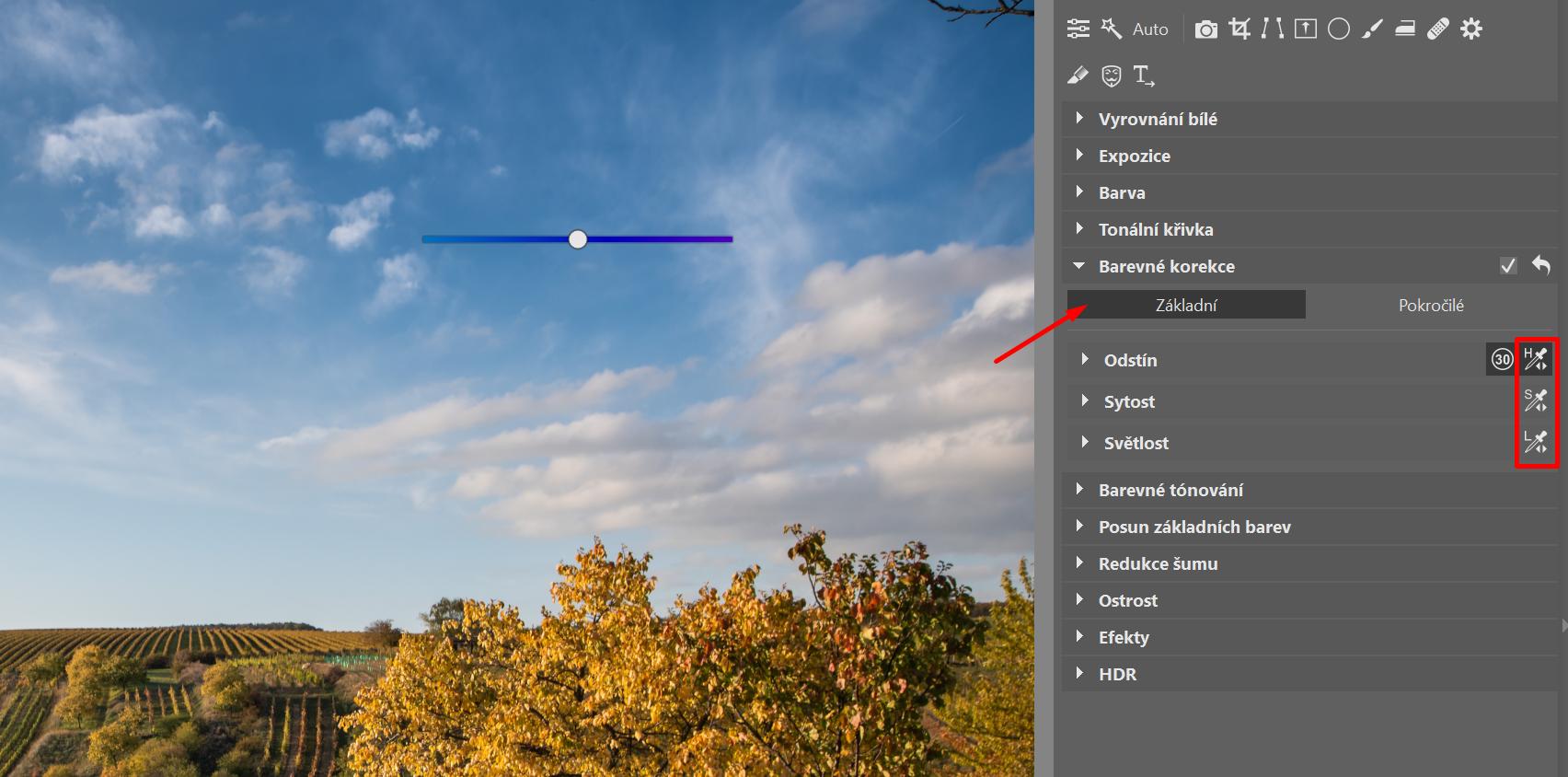 Barevné korekce: získejte absolutní kontrolu nad barevností vašich fotek