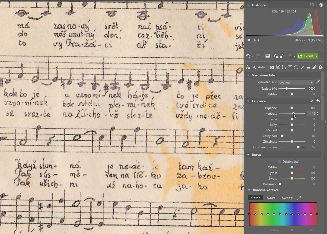Vylepšete čitelnost starých dokumentů: pomůže vám skener a ZPS X