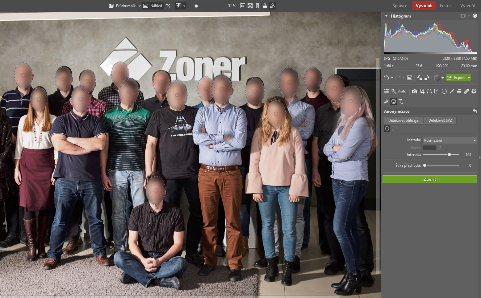 Jak snadno zakrýt obličeje a SPZ na fotkách: pomůže vám Anonymizace