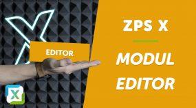 VIDEO: První kroky v modulu Editor