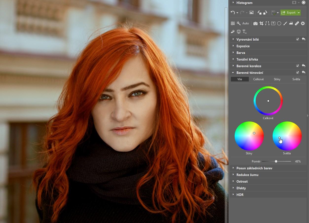 Barevné tónování: dodejte svým fotkám osobitý barevný styl