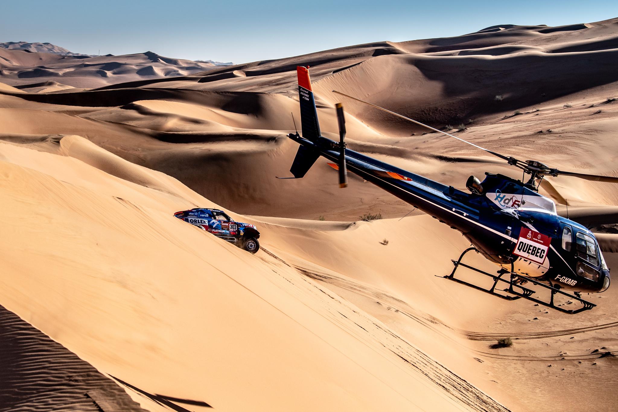 Dakar 2020 se sportovním fotografem Marianem Chytkou: příště chci vlastní helikoptéru