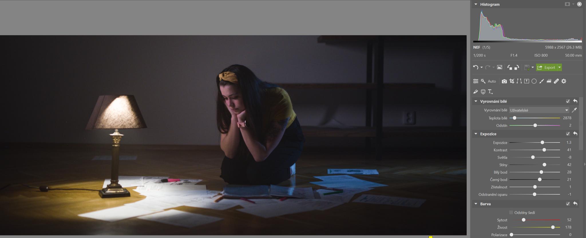 Škola úprav v ZPS X III: upravte si fotku ve filmovém stylu