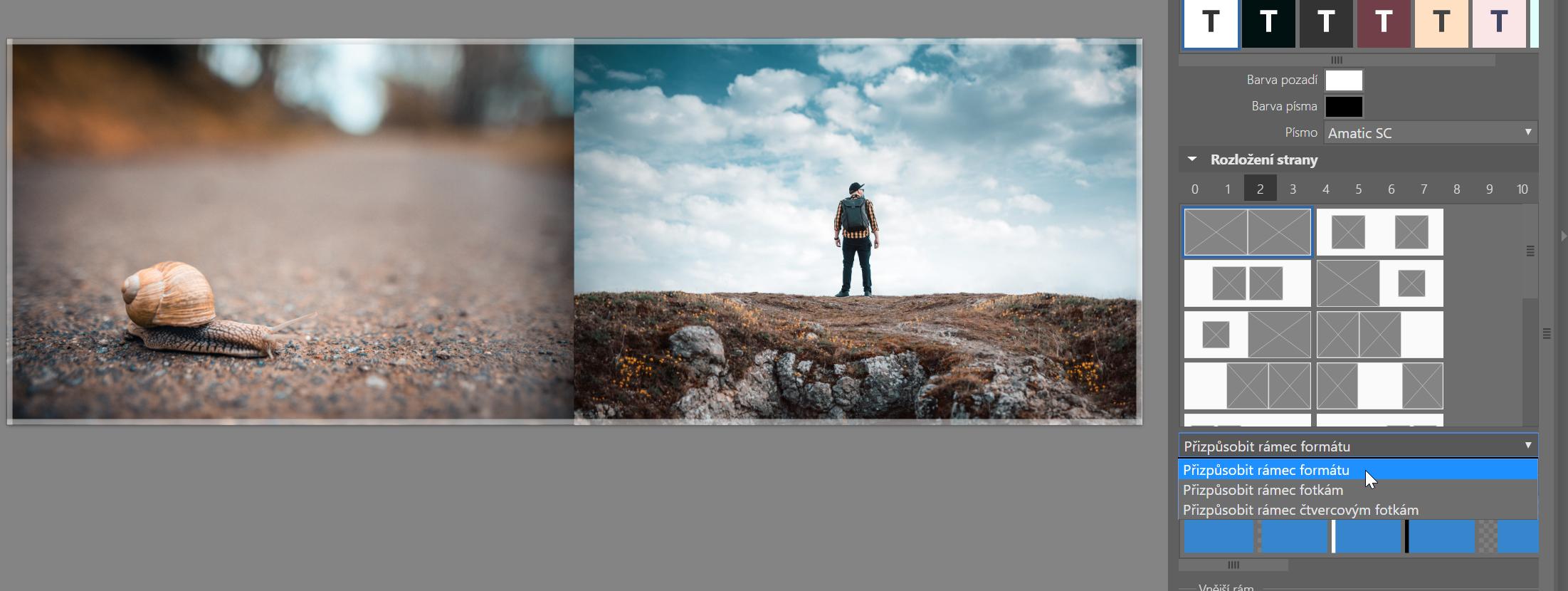 Jak vytvořit vlastní fotoknihu - výběr formátu fotek