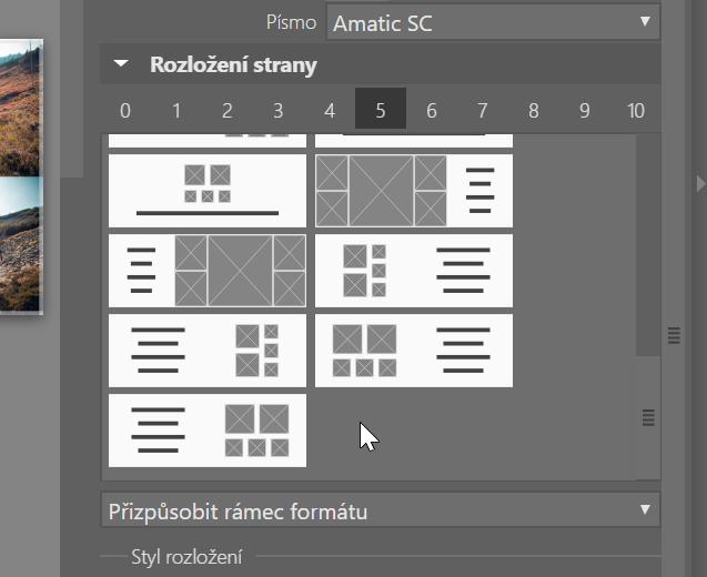 Jak vytvořit vlastní fotoknihu - šablony s připraveným textovým polem