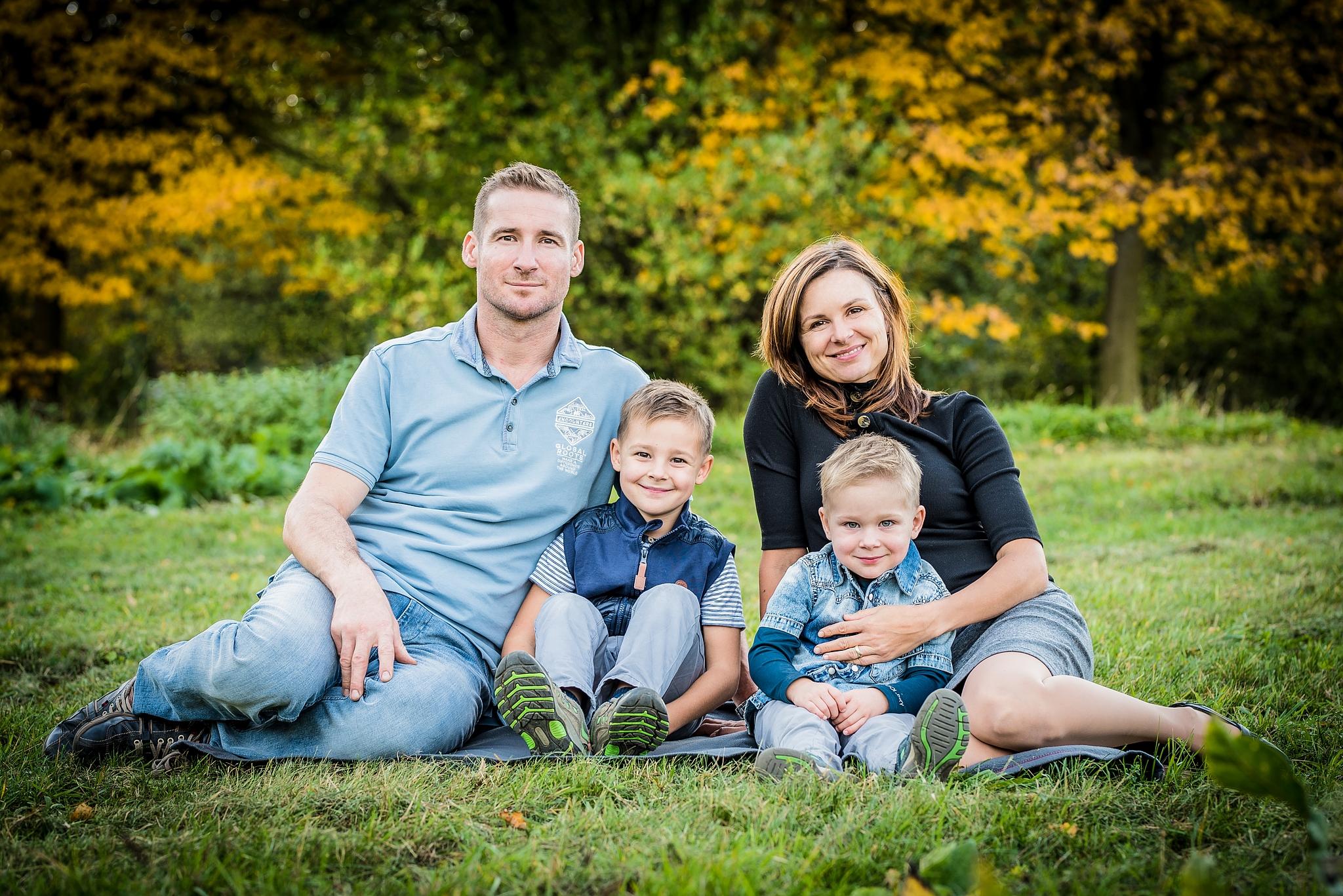 Rodinné focení: naučte se základy skupinové fotografie
