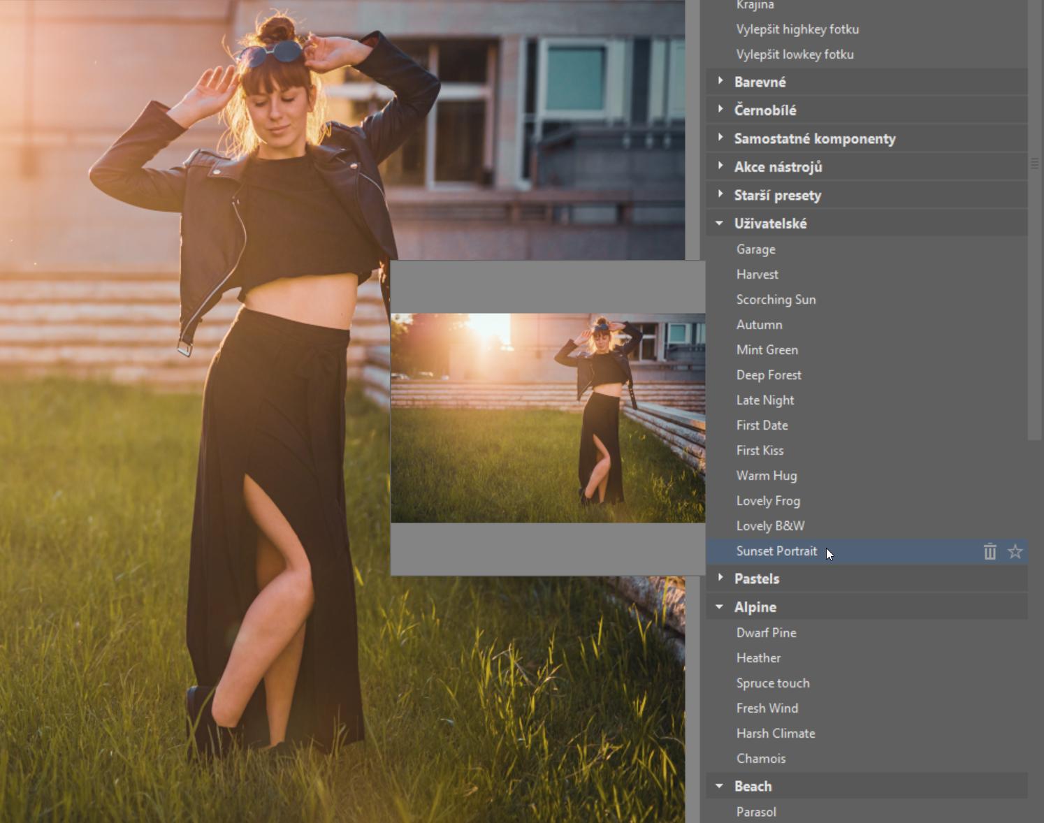 Jak zrychlit úpravy fotek a zároveň zachovat osobitý styl? Vytvořte si vlastní presety