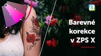 VIDEO: Barevné korekce – úprava barev a odstínů