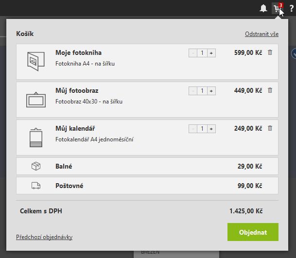 Vylepšujeme modul Vytvořit: ještě snadnější tvorba fotopředmětů - hromadný nákup fotopředmětů