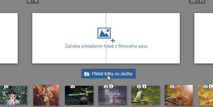 Vylepšujeme modul Vytvořit: ještě snadnější tvorba fotopředmětů - vložení všech fotek z dané složky