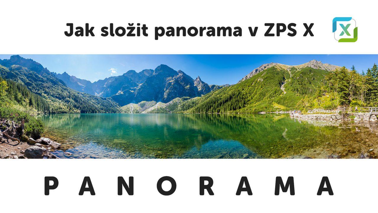 VIDEO: Skládáme panorama v Zoner Photo Studiu X - jak se dělá panoráma titulka