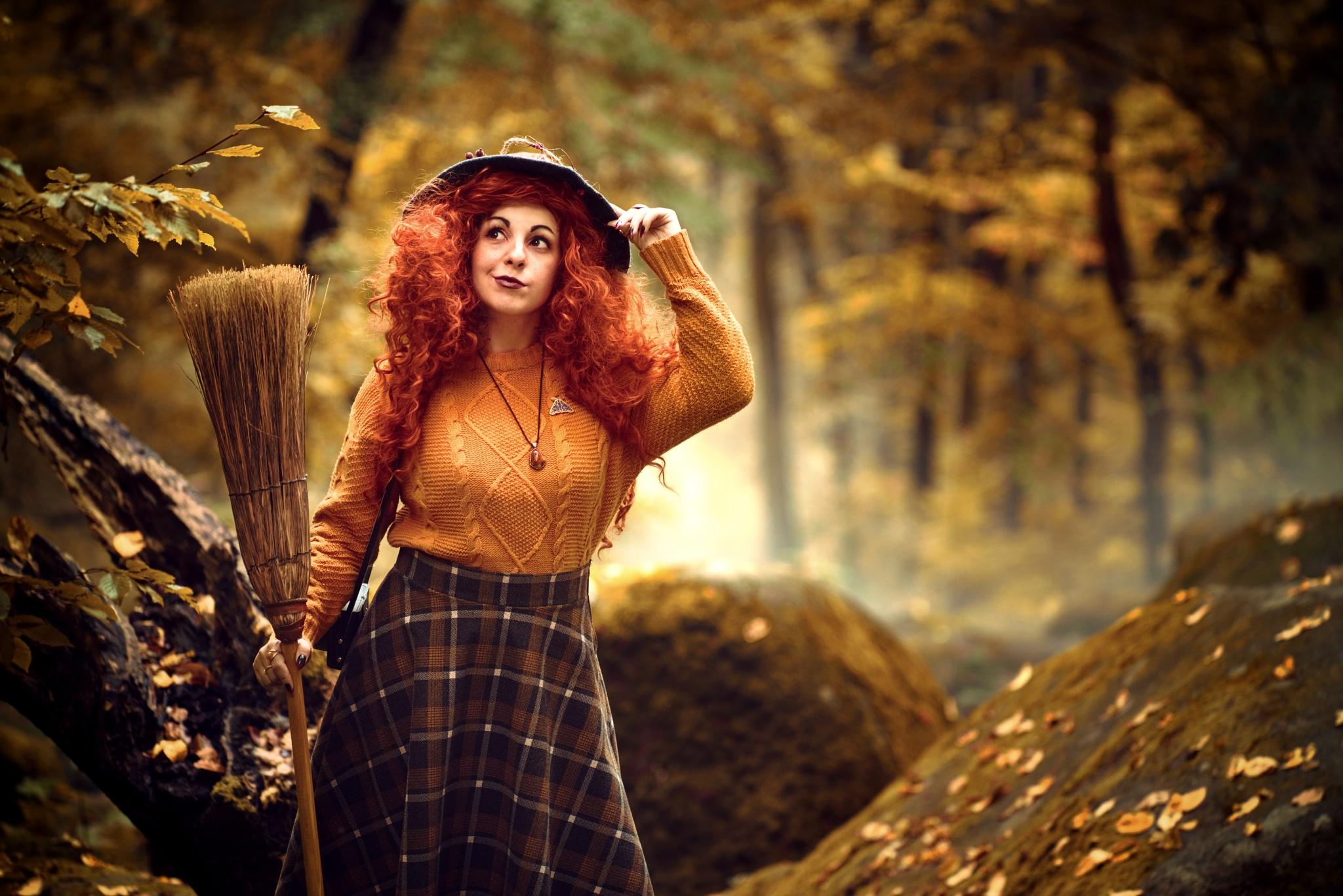 Inspirujte se! Halloweenské portrétní focení a úpravy