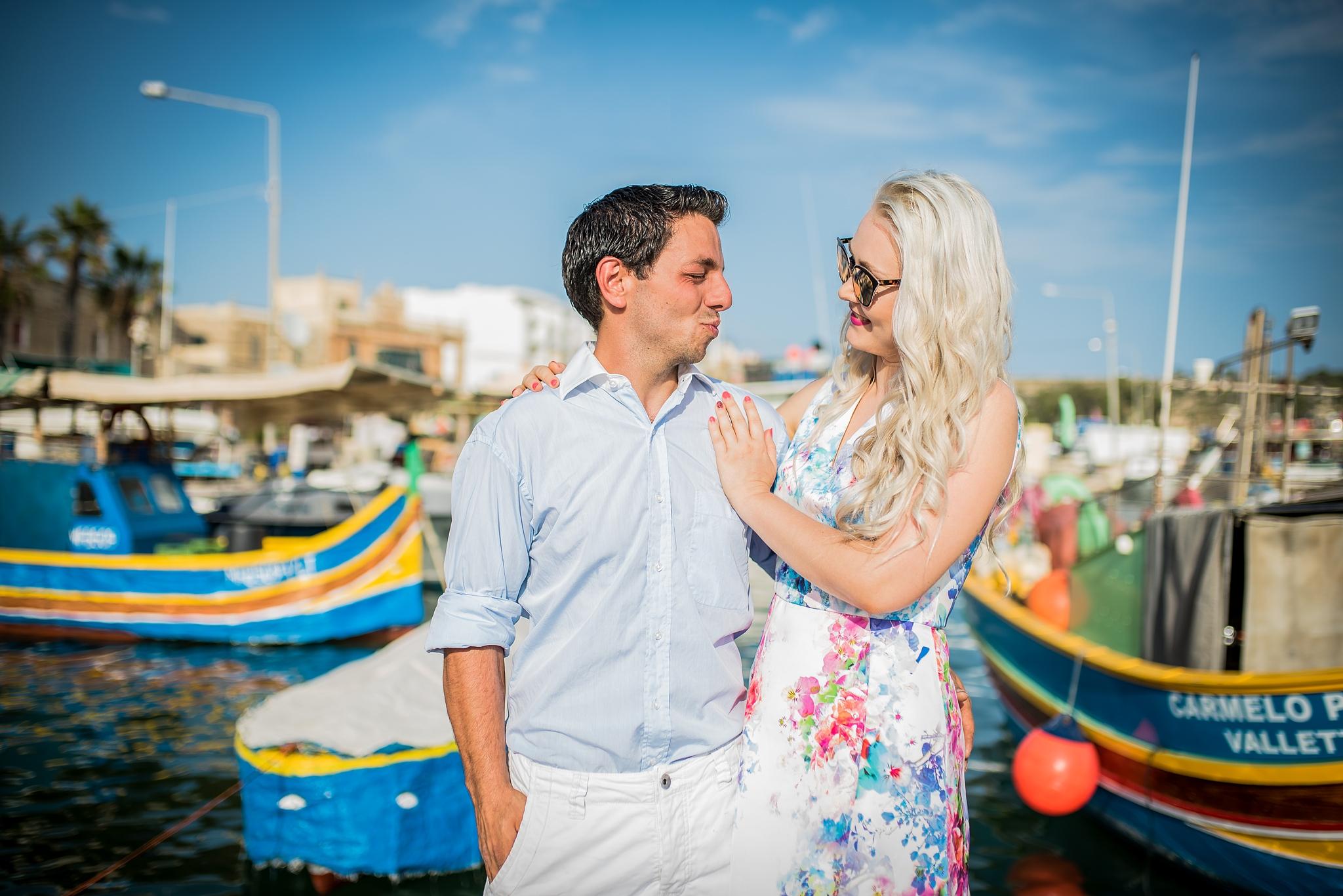 Jak na focení párů: blízkost, sladěné barvy a úsměvy