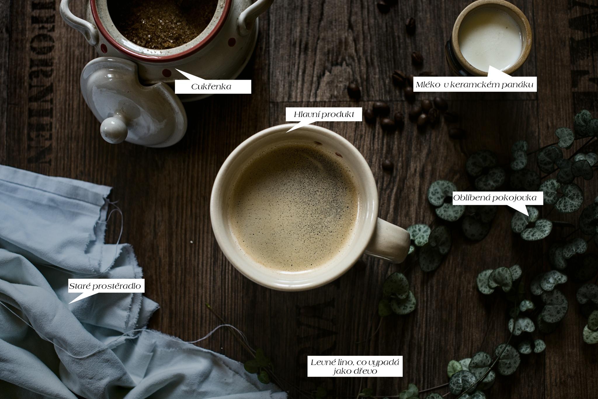 Jak fotit produkty v domácích podmínkách