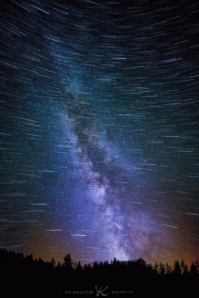 Příběh fotky – Mléčná dráha