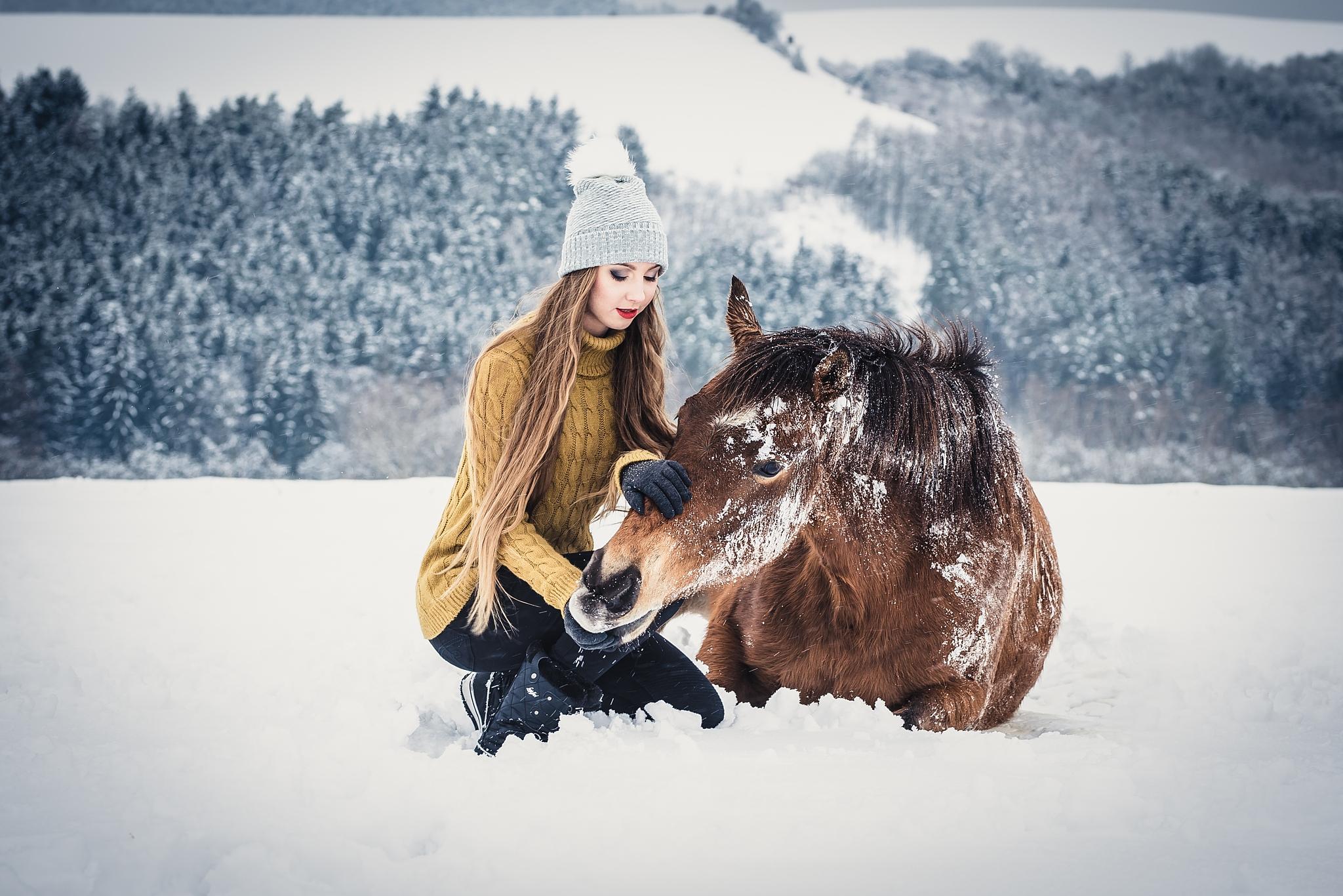 Jak fotit portrét s koněm