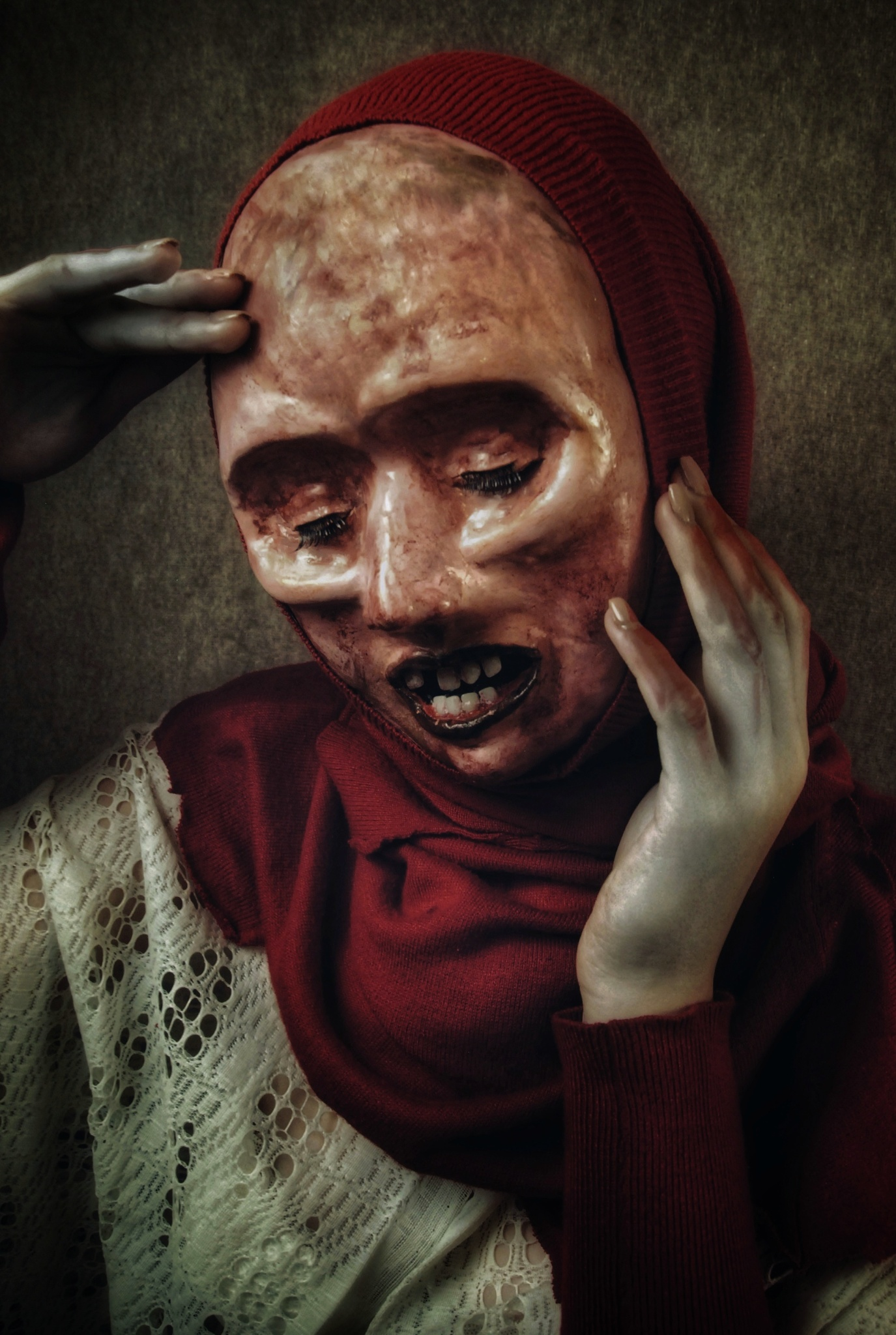 Hororový fotograf Peter Murín: Maska je inkognito a tajemno. Tvořím výraz přesně takový, jaký chci
