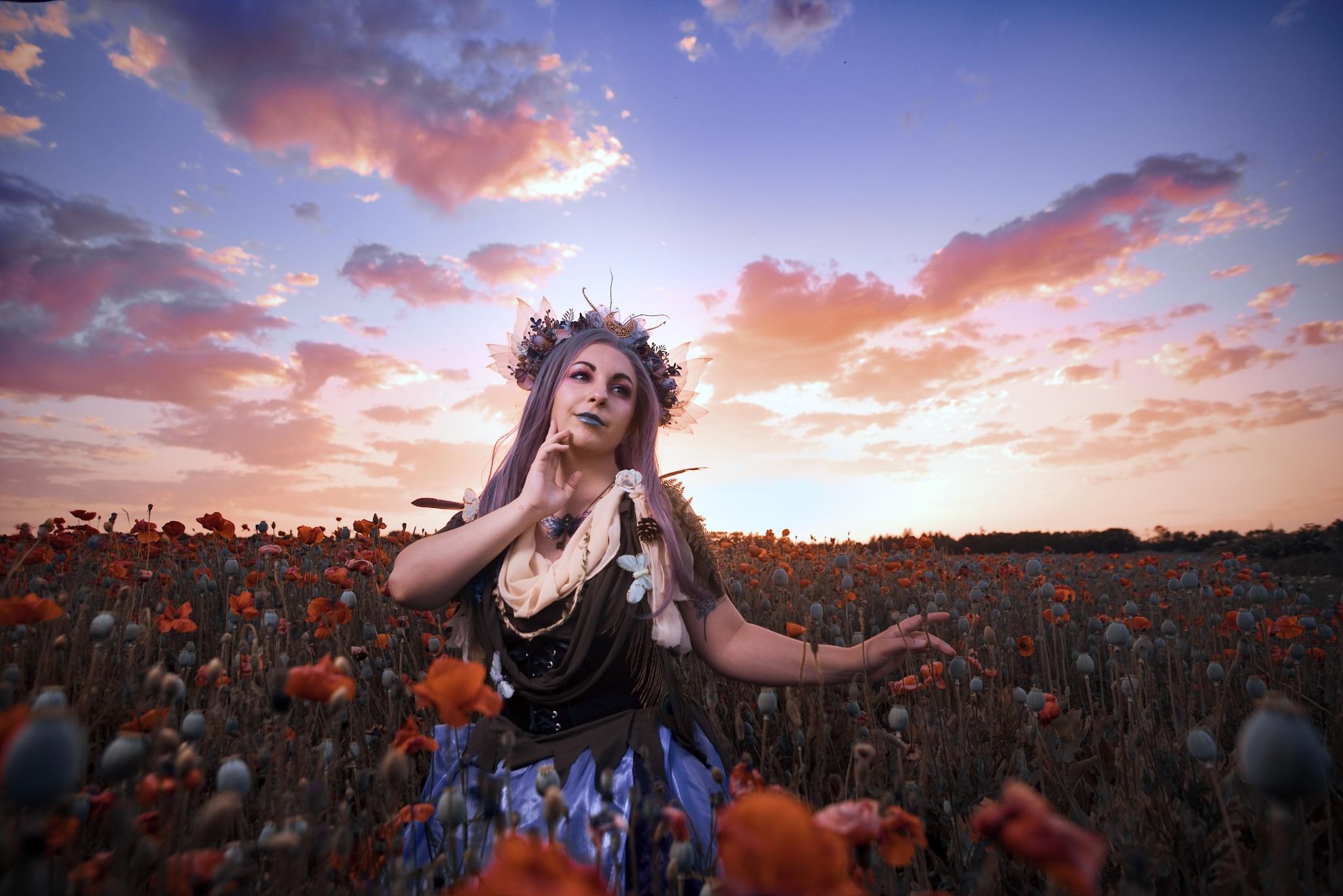 Portrét proti obloze: Jak na focení a úpravy